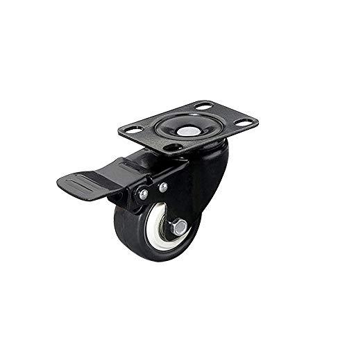 XBAO Rotelle fisse,Ruote per mobili,rotelle per Tavolo,ruotabili a 360°,Rotolamento Liscio & Silenzioso,per Il Trasporto Sicuro,per scrivanie,sedie,carrelli Piccoli,valigie per Bagagli,ECC