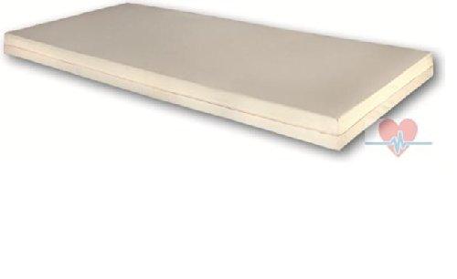 Matratze mit PU-Vollbezug, RG 40, abwaschbar, 200 x 90 x 12 cm, Objektmatratze, Pflegematratze