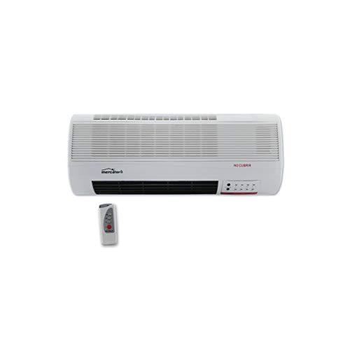 MT - Calefactor electrico de pared mini. mando a distancia. 2 potencias:...