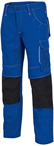 Uvex New Worker 3834 Herren-Arbeitshose - Blaue Männer-Cargohose 58