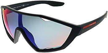 Prada Linea Rossa Plastic Sport Men's Sunglasses