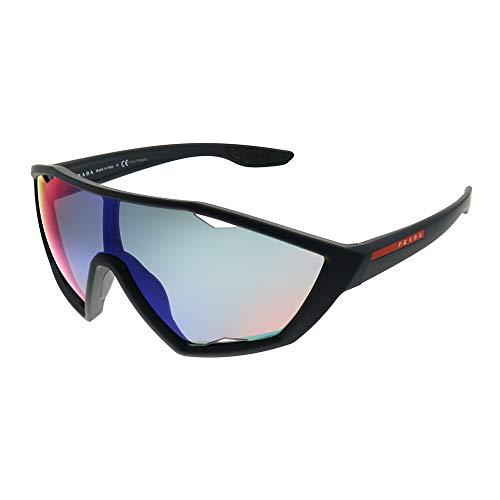 Prada LINEA ROSSA 0PS 10US Gafas de Sol, Black Rubber, 40 para Hombre