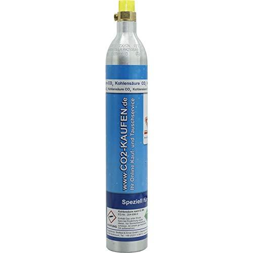 1 x CO2 Zylinder Flasche Soda Stream Wassersprudler Crystal Soda-Stream Bis zu 60 Liter Sprudelwasser je Füllung gefüllt Kohlensäure