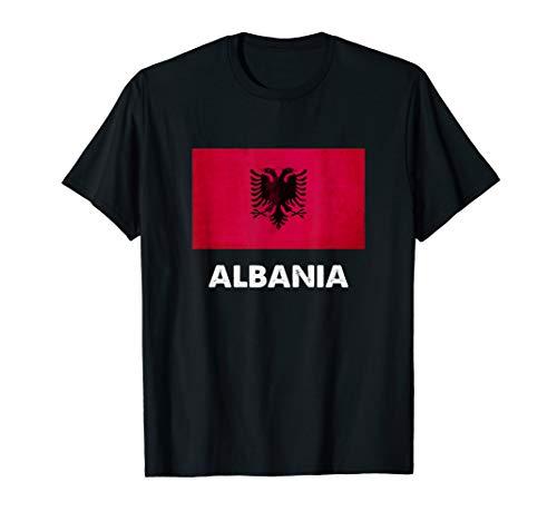 Albanien Flagge Trikot | Albanisch T-Shirt