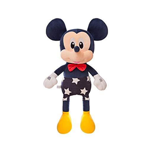 agzhu 35 cm Mickey Mouse Minnie Juguetes de Peluche de Dibujos Animados Animales Lindos muñeco de Peluche niños Regalos de cumpleaños