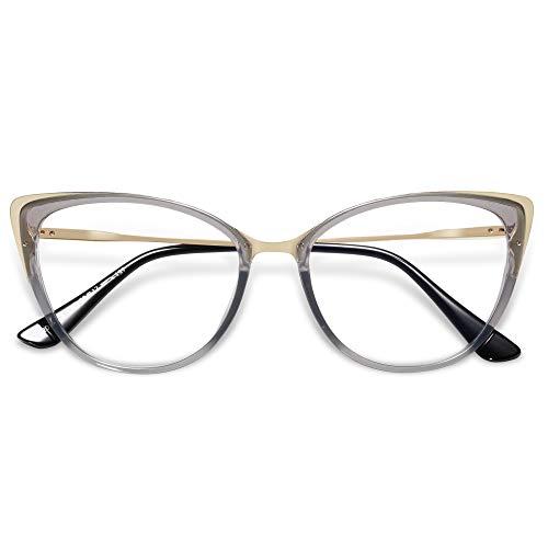 VANLINKER Cat Eye Blue Light Blocking Glasses,Anti Eye...