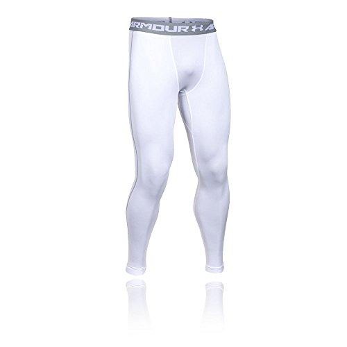 Under Armour 1265649 Legging de protection thermique Homme Blanc FR : XXL (Taille Fabricant : XXL)