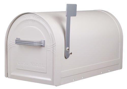 US-Mailbox Wyngate, abschließbar, Stahl, weiß - US Mailbox