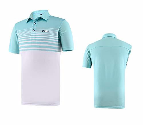 HCCX Golf professioneel sweatshirt, Zachte UV-bescherming, Mesh ademend T-Shirt, Vochtabsorberend zweten Golf polo shirt