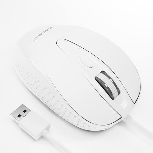 Ratón Portatil Con Cable  marca Macally