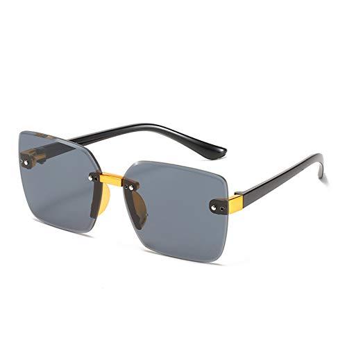 YTYASO Gafas de Sol de Ojo de Gato sin Montura con Estilo para niños, Gafas de Sol cuadradas Rosadas con Degradado, Gafas de Sol para niño y niña, Gafas UV400