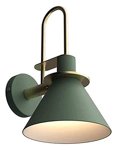 Lámpara de Pared,Aplique de pared E27 Moderna Lámpara de pared Minimalista Industrial Loft Decor Fistadure Montaje Montaje Montaje Montaje Macarrón Macaron Macarrón Iluminación for interiores Sconence