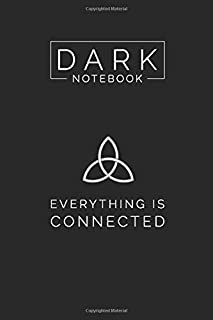 Dark TV Show Themed College Ruled Notebook Journal: Gift To Your Dearest TV Show Freaks (6