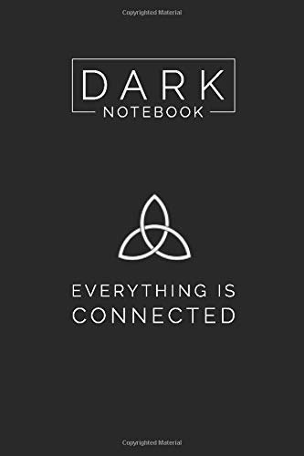 Dark TV Show Themed College Ruled Notebook Journal: Gift To Your Dearest TV Show Freaks (6 x9 , 120 Page, Glossy Cover)