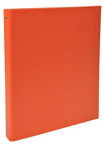 Exacompta 51374SE - Carpeta con 4 anillas, A4, color naranja