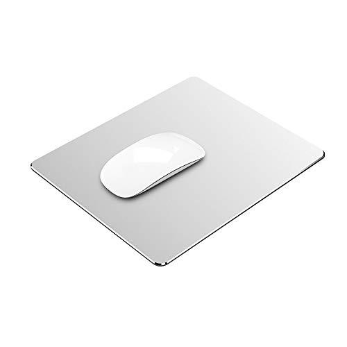 マウスパッド Vaydeer 金属マウスパッドアルミニウム合金マウス・パッド マウスパッドおしゃれ,滑らかに操作ができ、超薄型 硬質で両面滑り防止と防水設計で、高級感 耐摩耗性 高耐久性 レーザー&光学式マウス対応 (30×24×0.3cm)