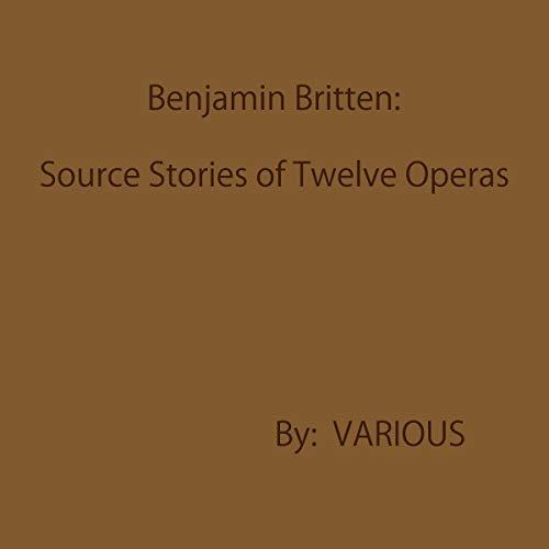 Benjamin Britten audiobook cover art