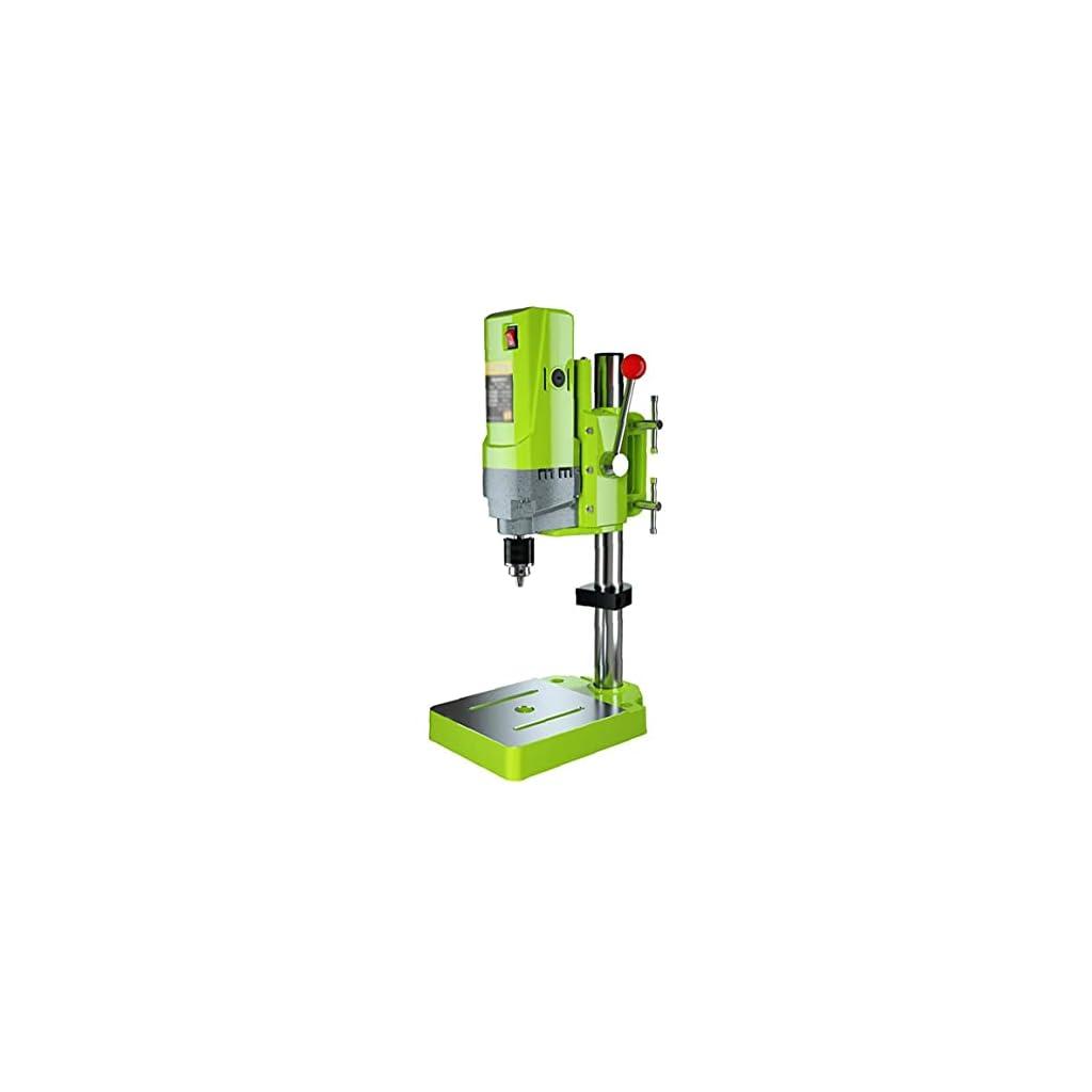 Support de perçage multifonction Benchtop perceuse à colonne 220 V Drill Floor Stand Table de précision à grande vitesse…