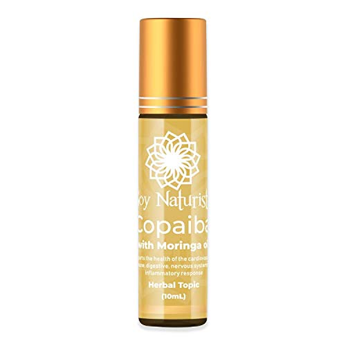 Soy Naturista Copaiba oil with Moringa Oil, Roll On Serum, 10 ml - for Acute and Chronic Pain
