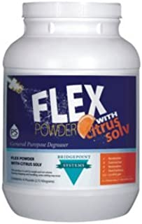 Flex Powder w/ Citrus Solv Heavy Duty Carpet PreSpray (4/6.5lb Jars)