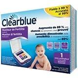 Monitor Di Fertilità Clearblue Avanzato, Test Di Ovulazione E Gravidanza, Aumenta le Probabilità di Rimanere Incinta – 1 Monitor Sensibile al Tatto (Stick di Test...