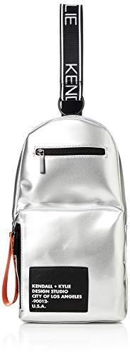 Kendall + Kylie Damen KIKI-Silver Sling-Bag, Silber, Einheitsgröße