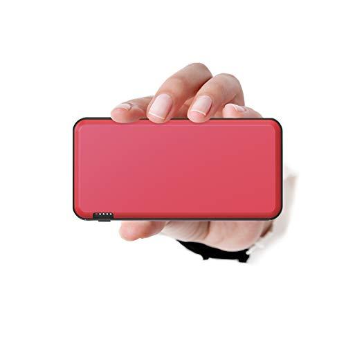 Ockered Powerbank 20000mAh,Caricatore portatile ad alta capacità con USB C/Micro,Batteria esterna con spia luminosa,Compatibile con iPhone, Samsung, Huawei, iPad e tablet (rosso)