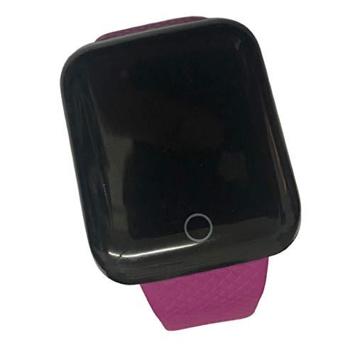 #N/A/a Reloj Inteligente Monitor de Cardíaco Pulsera Pulsera Deportiva Pantalla - Púrpura, 43.5x36x12.3mm