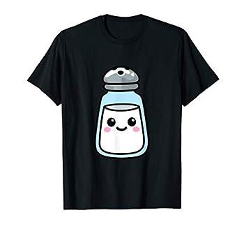Kawaii Salt Shaker Matching Easy Halloween Costume Couples T-Shirt