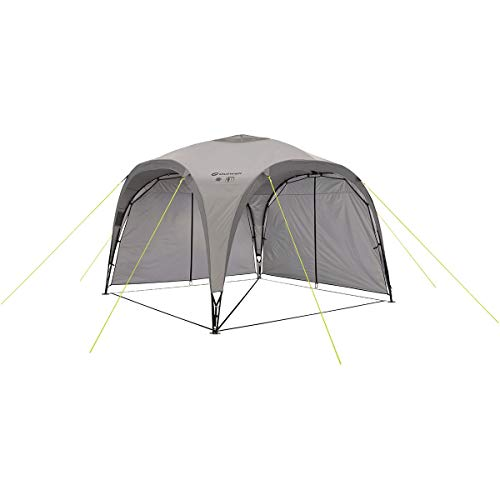 Outwell Event Lounge M Side Wall With Zip For Shelter Tent Grey