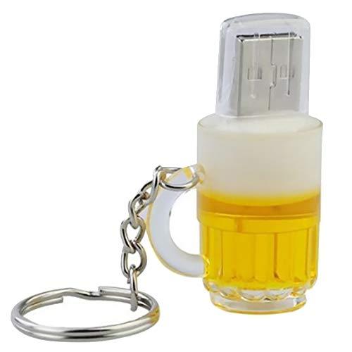 Fablcrew. Chiavetta USB 2.0 da 16 GB per Piacere, Design Originale, Fantasia, insolito, Motivo: Birra 32 Go 32GB
