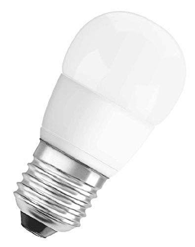 Osram LED Star Classic P Lampe, in Tropfenform mit E27-Sockel, nicht dimmbar, 5W = Ersetzt 40 Watt, Matt, Warmweiß - 2700 Kelvin, 6er-Pack