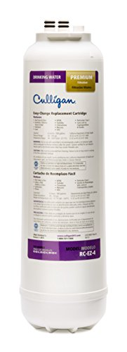 Culligan RC 4 EZ-Change Premium Water Filtration Replacement Cartridge, 500 Gallon, White