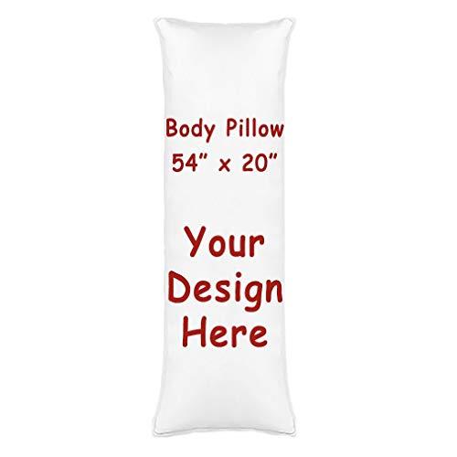 Amazon Com Rr Ddxu Design Customize Pillowcase Personalized Throw Pillow Pet Photo Pillow Cover Love Photo Pillowcase Wedding Keepsake Throw Pillow 54 X 20 White Home Kitchen
