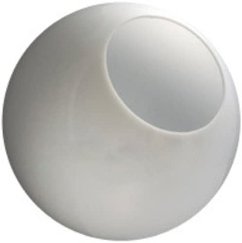 10 in White Acrylic Globe with 5 25 in Neckless Opening American 3201 10020 003 product image
