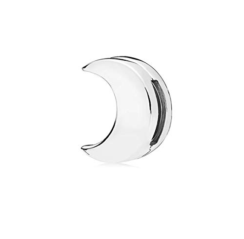 FGT Moon Reflexions Charms for Bracelets Bead Sterling Silver Charm for Bracelet Gift for Granddaughter Mum Birthday