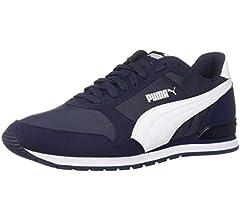 PUMA ST Runner Sneaker, Peacoat White