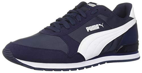 PUMA ST Runner V2 Sneaker, Peacoat White, 7.5 M US