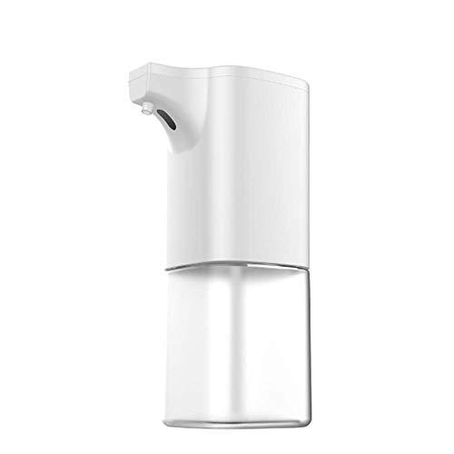 Lecez Lavado de teléfonos móviles Totalmente automáticos, Sensor Smart Sensor Dispensador de jabón Sensor para niños Sensor para niños Desinfectante eléctrico Mano, Blanco, 19x10cm