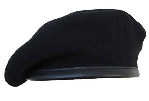 Gorro de lana del ejército británico Black (Royal Tank Regiment) 55 cm