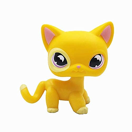 N/N Littlest Pet Shop, LPS Toy Cute Animal Big Eye Pet Cat Collection Child Girl Figure Toy