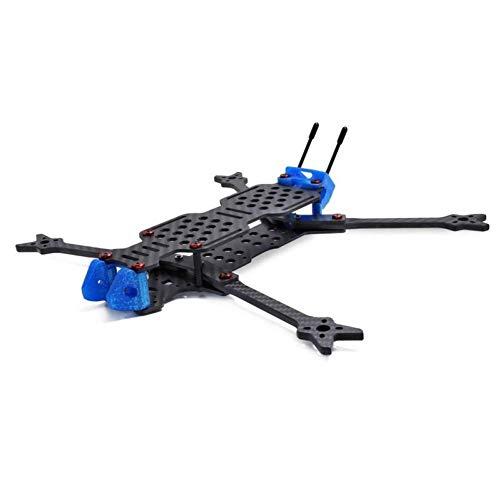 XHUENG 7 Pulgadas 315 Mm 3 K Gran Espacio Fuerte Resistencia DIY FPV de Largo Alcance RC Drone Marco de Fibra de Carbono/para cocodrilo Geprc Gep-Lc7 (Color : GEP-LC7)