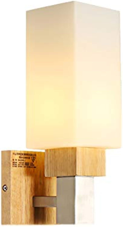 Rustikale Glaswandleuchte, Einfach Vintage Flurleuchte Gang Türffnung Bracket-Beleuchtung Restaurant Café Hotel Wohnzimmer Dekoration Lampe,B