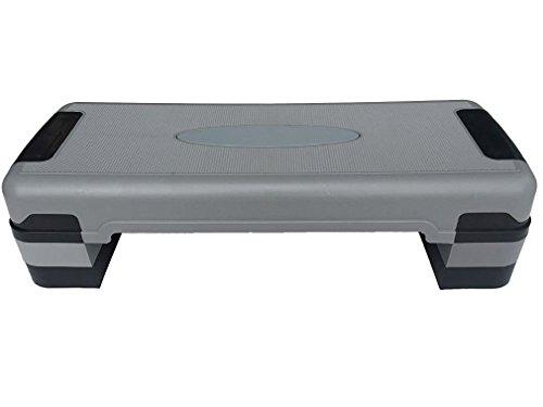 KLB Sport 81,3 cm verstellbare Trainingsgeräte Stufenplattform für Sport & Fitness W/4 Steigungen