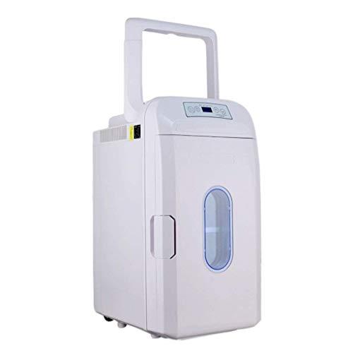 SMLZV 35L portátil eléctrica Refrigerador Acampar más frío la Temperatura del refrigerador Ajustable Pantalla vehículo Mini Nevera