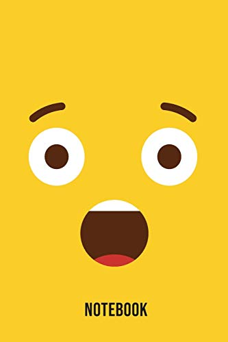 Notebook: Shocked Emoji Emoticons Notebook,: Emoticons Notebook For Kids, social media emoticons Journal, Emoticon Face Themed Birthday, Emoji ... Emoji Stuff, 120 Pages, 6x9, Matte Cover.