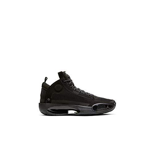 Nike Air Jordan Xxxiv Hombres Ar3240-003, Negro (Negro/Black-dk Smoke Gris/Verde eléctrico), 41.5 EU