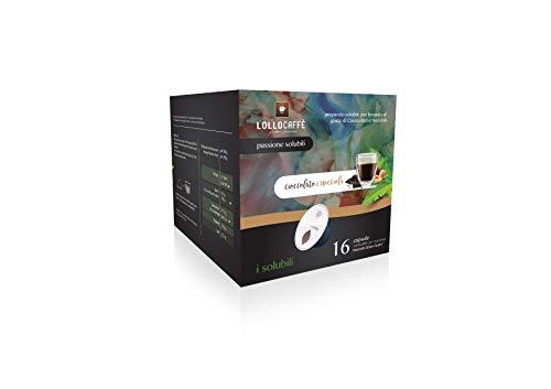LOLLOCAFFE - '20g' Chocolate con avellanas - comp Dolce Gusto - 16 cápsulas
