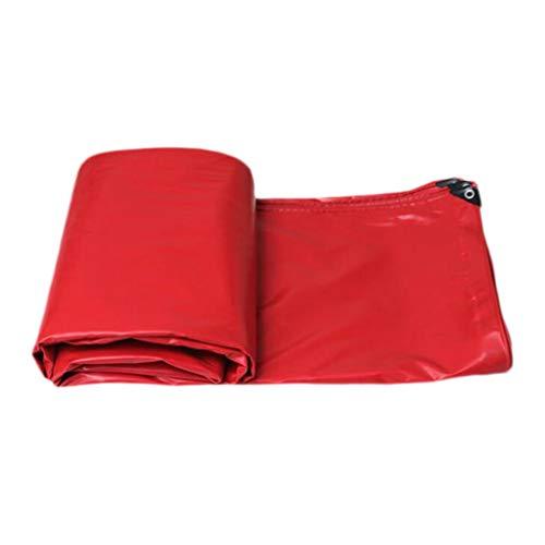 HMLIFE Toile imperméable double face imperméable à l'eau de pluie imperméable à l'eau de pluie extérieure de tissu de bâche de toile de bâche de toile de bâche de camping bâche de camping tente de ten