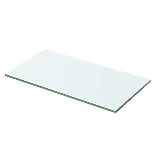 Glasboden Glas Regalboden Glasscheibe Glasplatte Einlegeboden Glasablage, Max. Tragfähigkeit 15 kg,...
